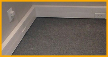 PVC power skirting