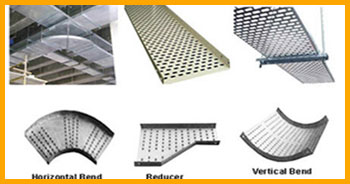 perforated cable tray bends