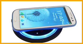 wireless smartphone charger for table