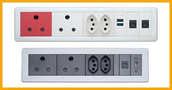 Blade - Desk power outlets