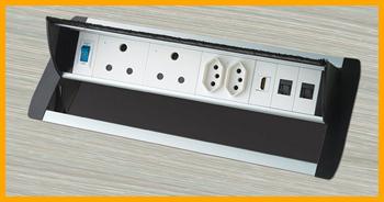 Pivor Pop up desk power outlet