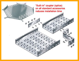 Return Flange Cable Tray (PG)