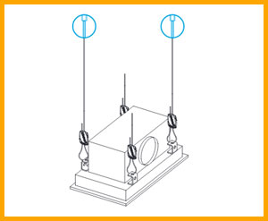 Gripple Air Conditioning Hanging Systems