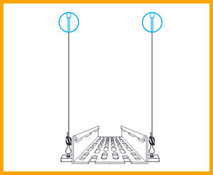 Gripple Cable tray hanging systems