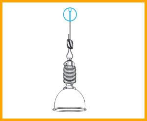 Gripple Light hanging solutions