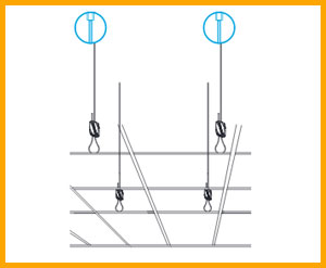 Gripple Suspended Ceiling hanging solutions