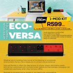 ECO-RANGE ECO-VERSA Desk Power