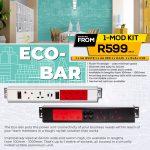ECO-RANGE ECO-BAR Desk Power