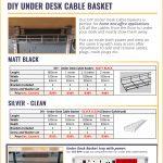 Under Desk Cable Basket Price