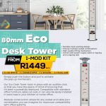 ECO-RANGE ECO-TOWER Desk Power